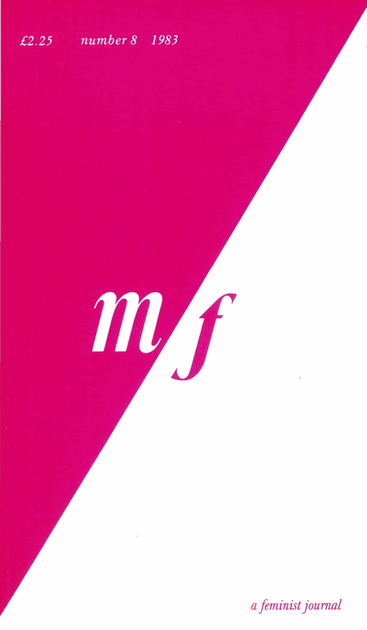 Issue 8 m/f - a feminist journal